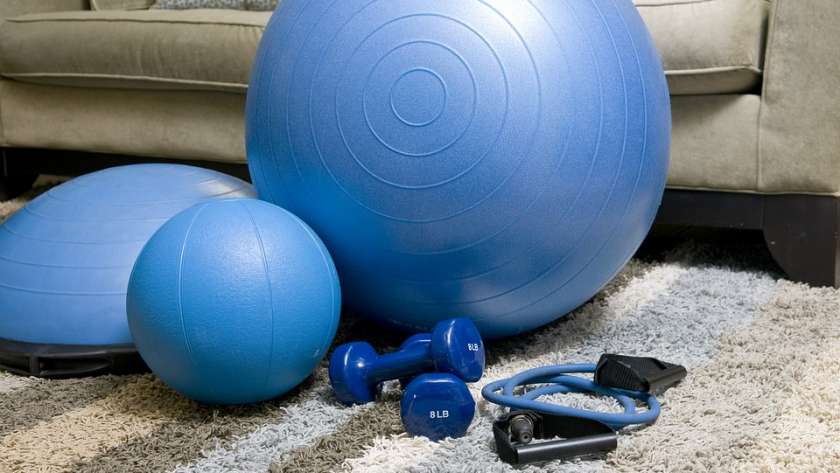 Create an Inspirational Home Gym Space Youll Actually Use